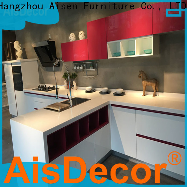 AisDecor custom lacquer kitchen cabinet one-stop services