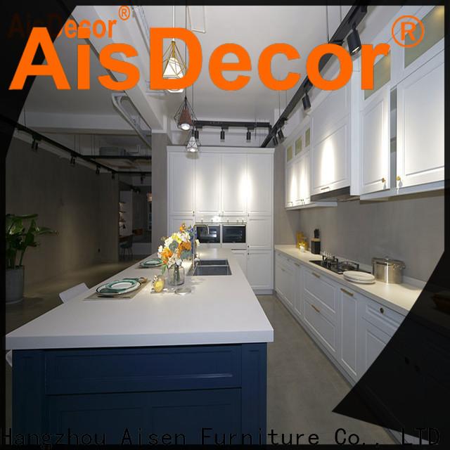 AisDecor solid wood kitchen cabinet international trader