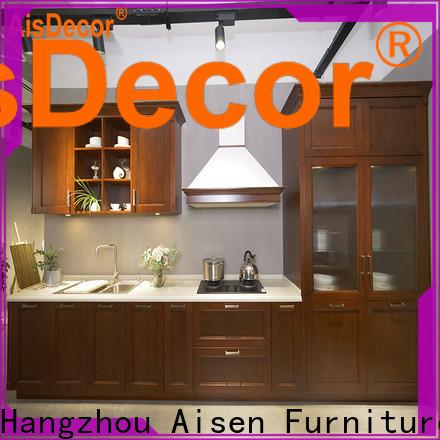 AisDecor oak cabinets from China