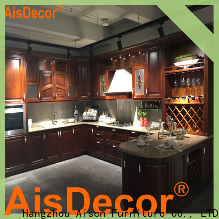 AisDecor best oak wood cabinets one-stop solutions