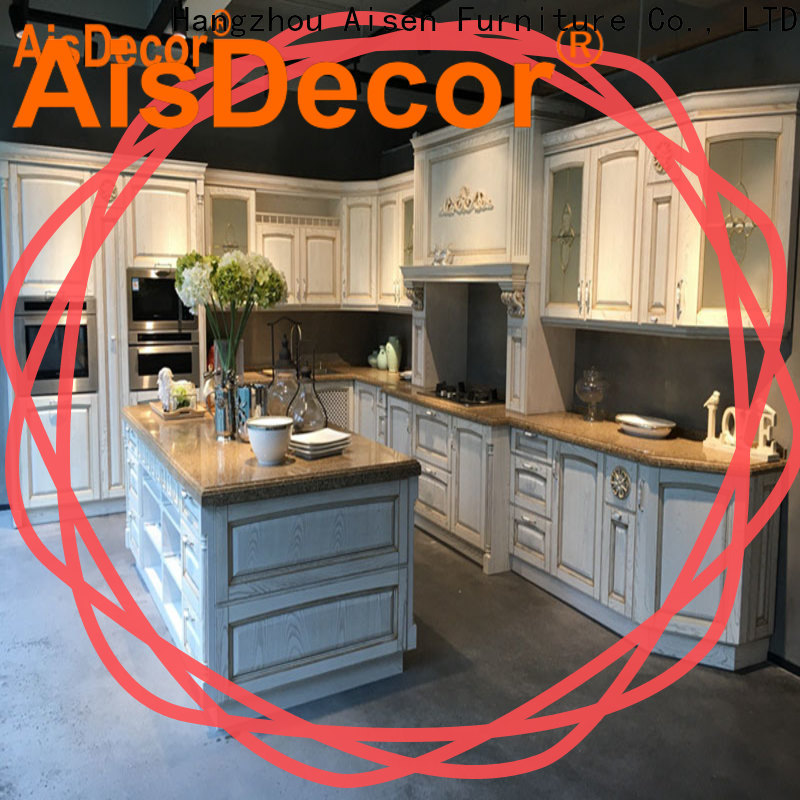 custom solid wood kitchen cabinet one-stop solutions
