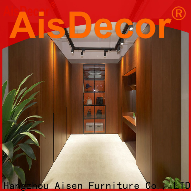 AisDecor top-selling walk in wardrobe factory