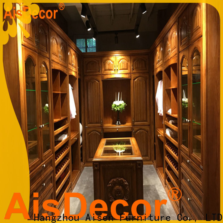 AisDecor top-selling large walk in closets from China