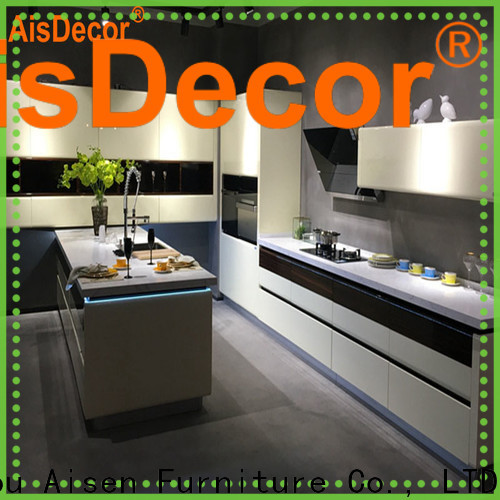 cheap lacquer kitchen cabinet factory