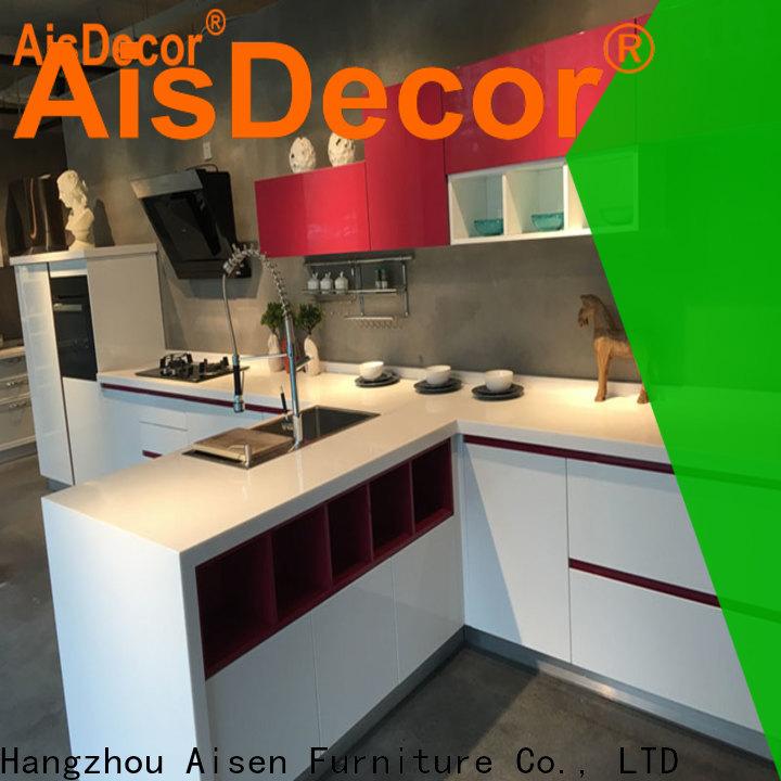 AisDecor new gray cabinets kitchen from China