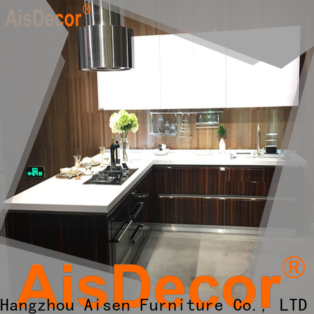 AisDecor best laminate kitchen cabinet one-stop solutions