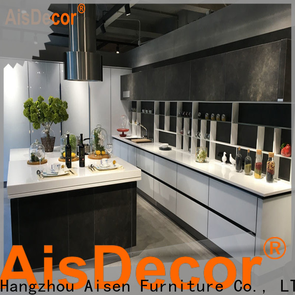 AisDecor shadow line kitchen cabinets supplier