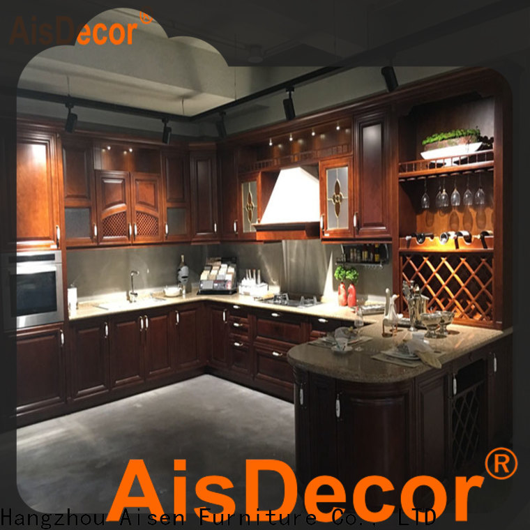 cheap white wood kitchen cabinets factory