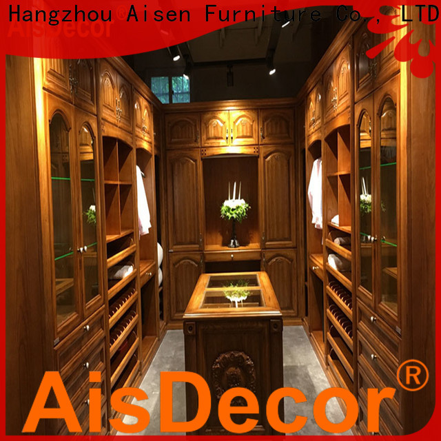 AisDecor white walk in closet wholesale