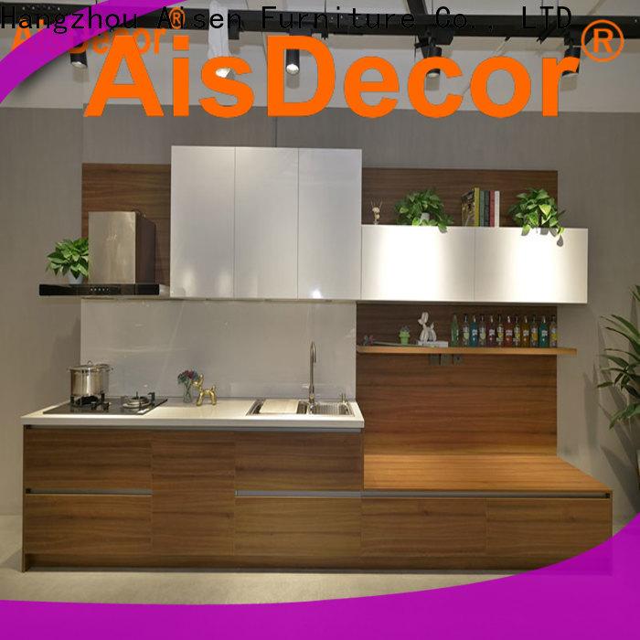 AisDecor custom painting laminate kitchen cabinets wholesale