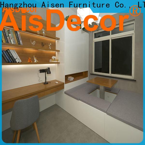 AisDecor wooden wardrobe one-stop services