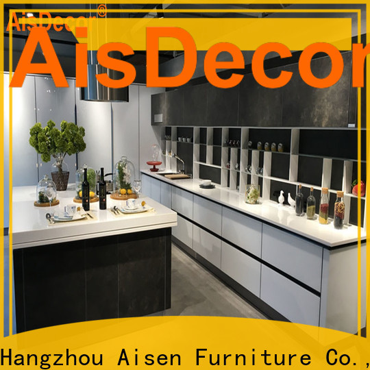 AisDecor professional shadow line kitchen cabinets exporter