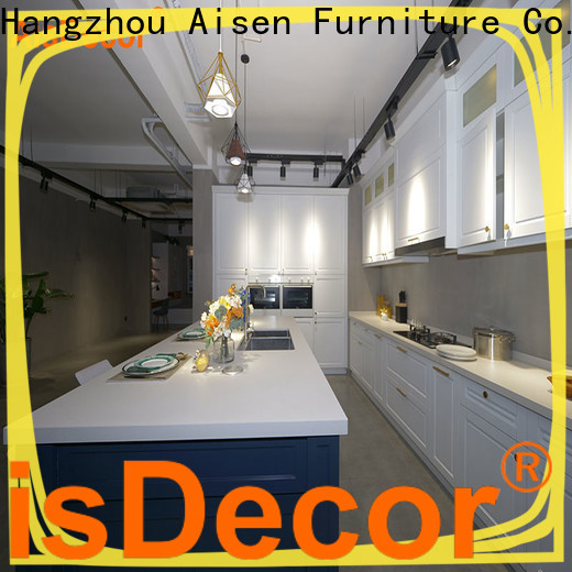 AisDecor professional solid wood kitchens factory