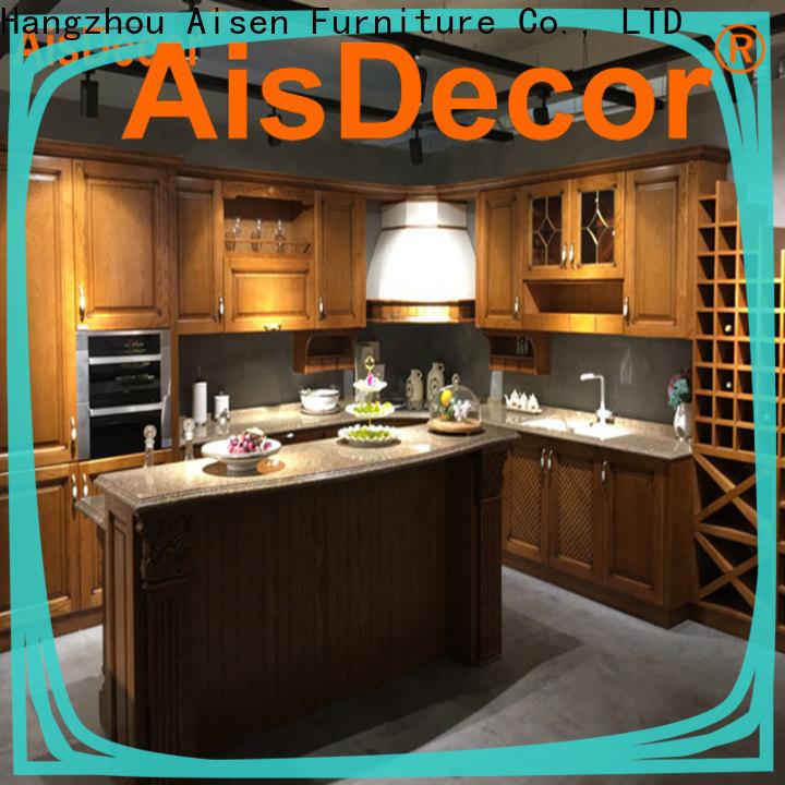 AisDecor cheap cheap wood cabinets factory