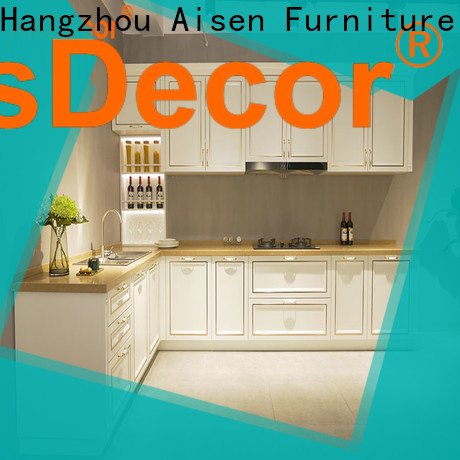 AisDecor custom wooden kitchen cupboards one-stop solutions
