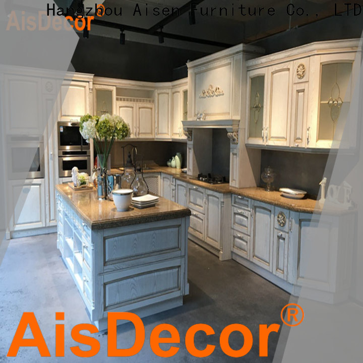 cherry wood kitchen cabinets exporter