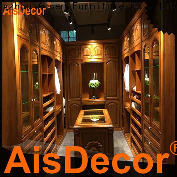 AisDecor luxury walk in closet wholesale