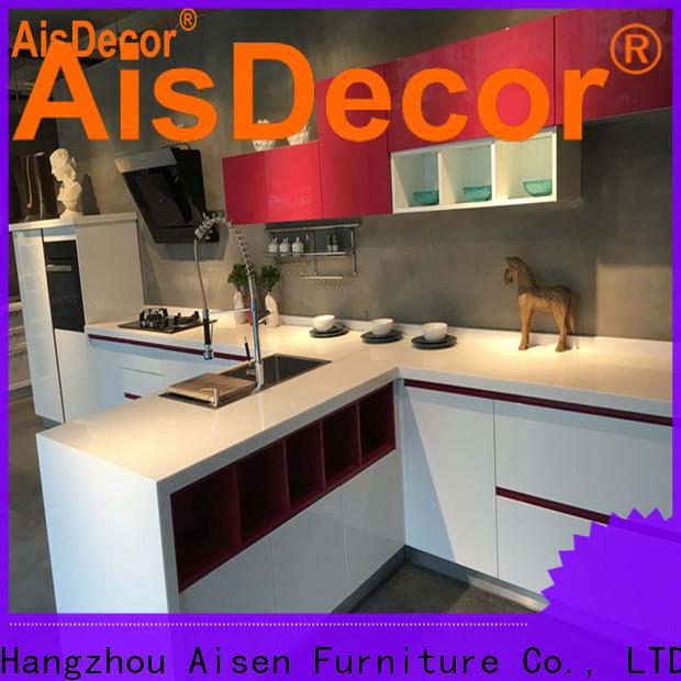 AisDecor gray cabinets kitchen overseas trader