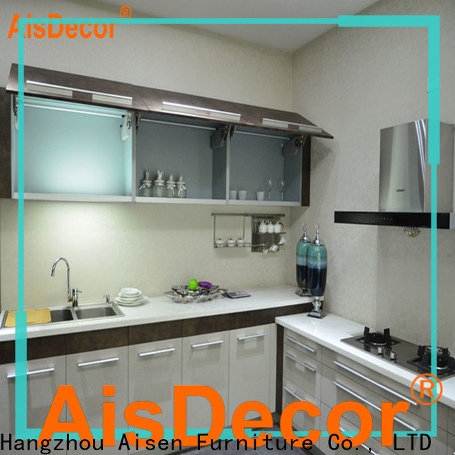 AisDecor best painting laminate kitchen cabinets manufacturer