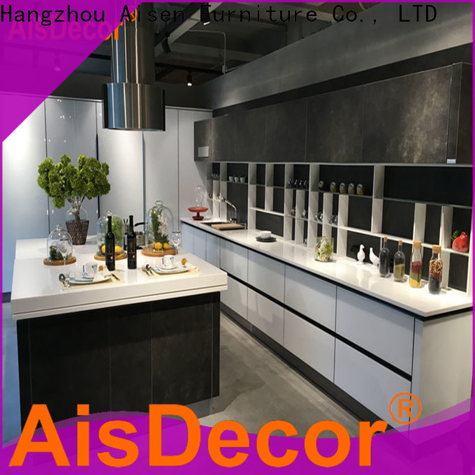 AisDecor new shadow line kitchen cabinets one-stop services