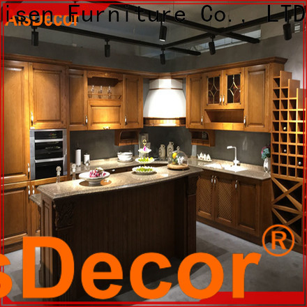 AisDecor top-selling wood and white kitchen cabinets from China