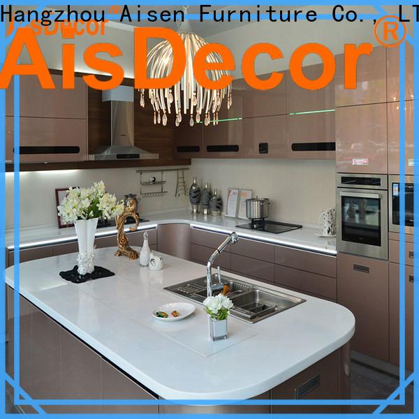 AisDecor white lacquer cabinets exporter