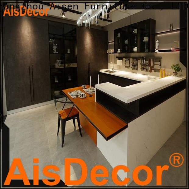 AisDecor new laminate kitchen cabinet wholesale