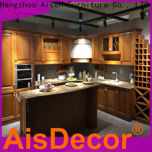 AisDecor professional oak wood cabinets one-stop solutions