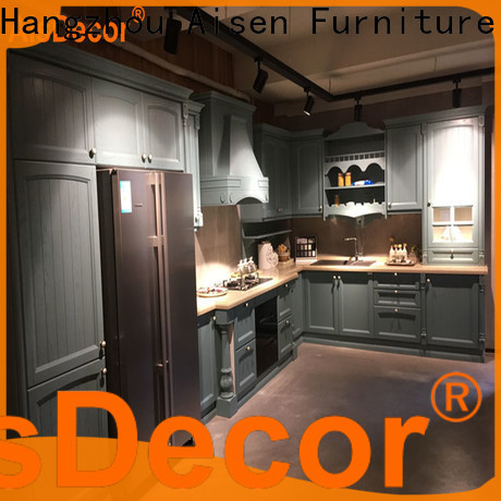 AisDecor new oak wood cabinets one-stop services