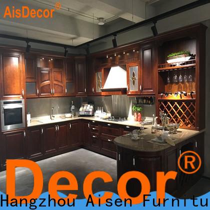 AisDecor oak cabinets overseas trader
