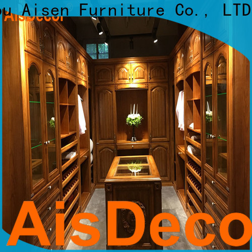AisDecor custom the walk in wardrobe supplier