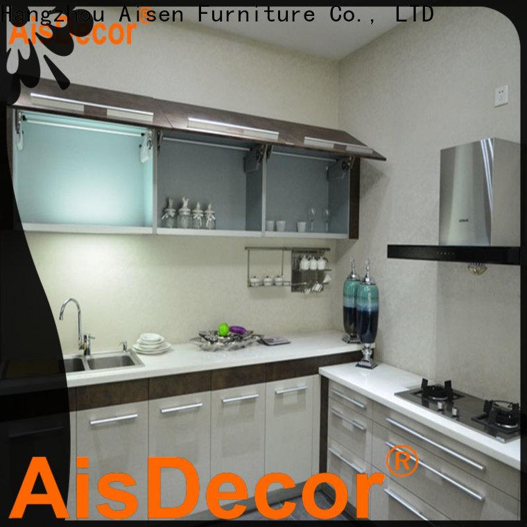AisDecor cheap laminate kitchen cabinet supplier