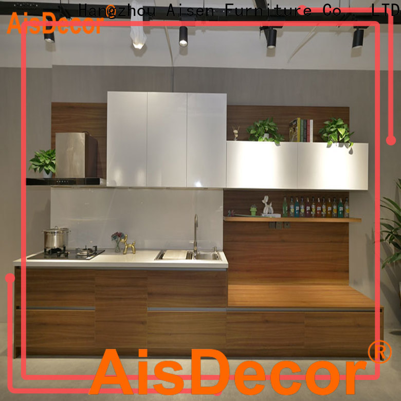 custom painting laminate kitchen cupboards factory