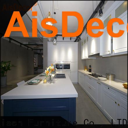 AisDecor dark wood kitchen cabinets one-stop services
