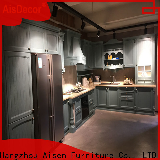 AisDecor cherry wood cabinets factory