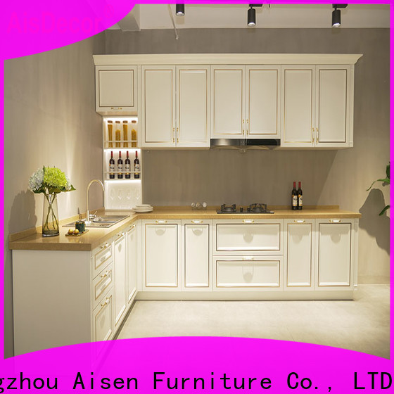 AisDecor cherry wood cabinets from China