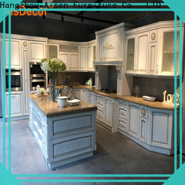AisDecor solid wood kitchen cabinet exporter