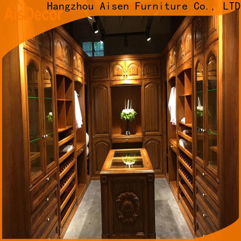 AisDecor huge walk in closet manufacturer