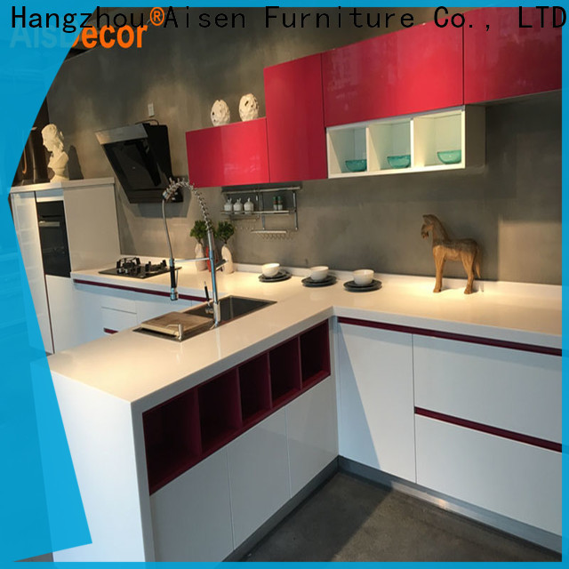 AisDecor top-selling gray cabinets kitchen supplier