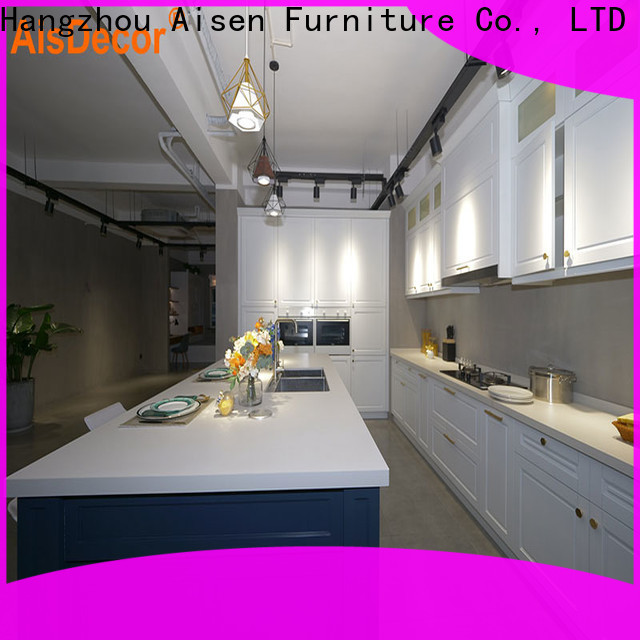 AisDecor professional solid wood kitchen cabinet one-stop services