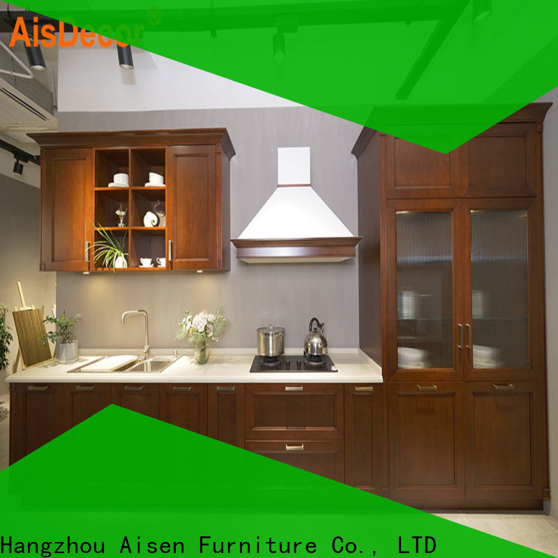 AisDecor oak wood cabinets from China