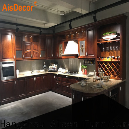 custom oak wood cabinets one-stop services