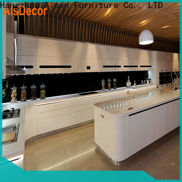 AisDecor custom lacquer paint cabinets one-stop services