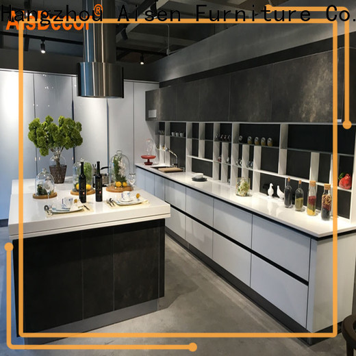 AisDecor top-selling shadow line kitchen cabinets wholesale