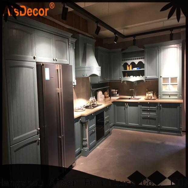 AisDecor reliable oak wood cabinets exporter