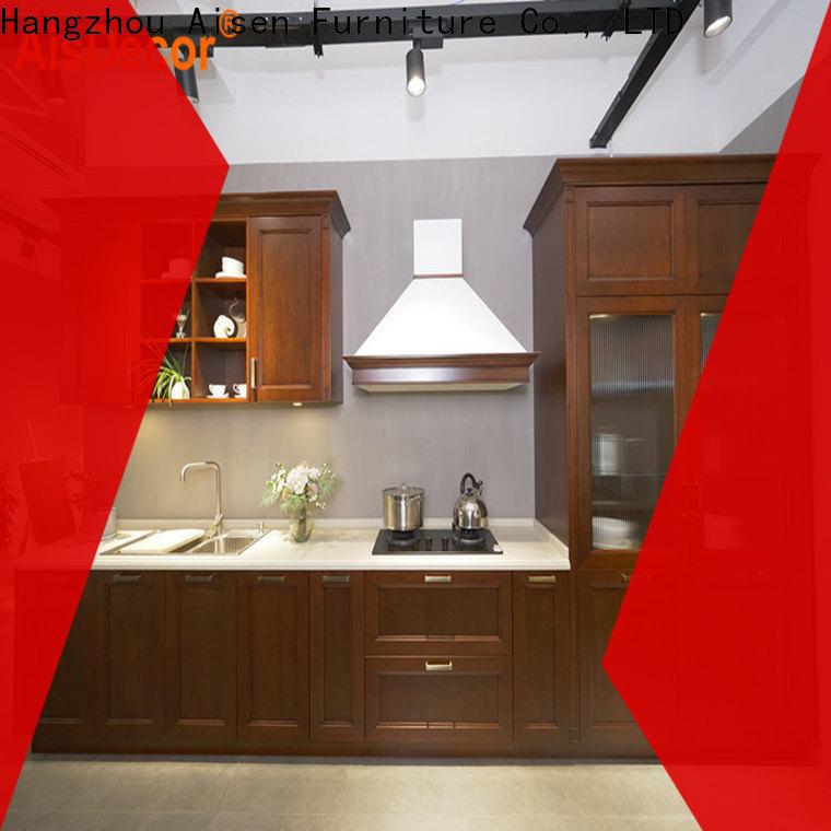 AisDecor cheap oak wood cabinets factory
