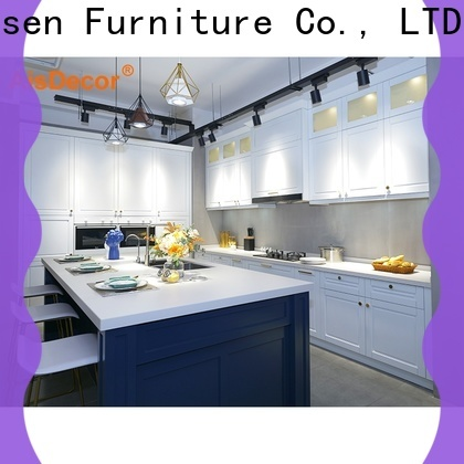 AisDecor solid wood kitchen cabinet supplier