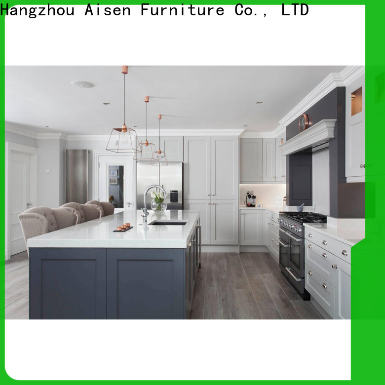 AisDecor new dark wood kitchen cabinets overseas trader
