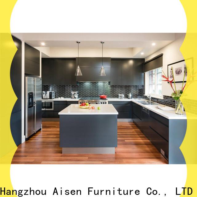AisDecor laminate kitchen cabinet exporter
