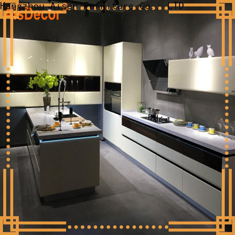 AisDecor lacquer kitchen cabinet overseas trader